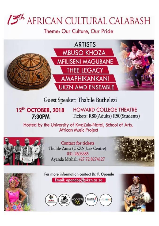 13th Cultural Calabash & African Cuisine
